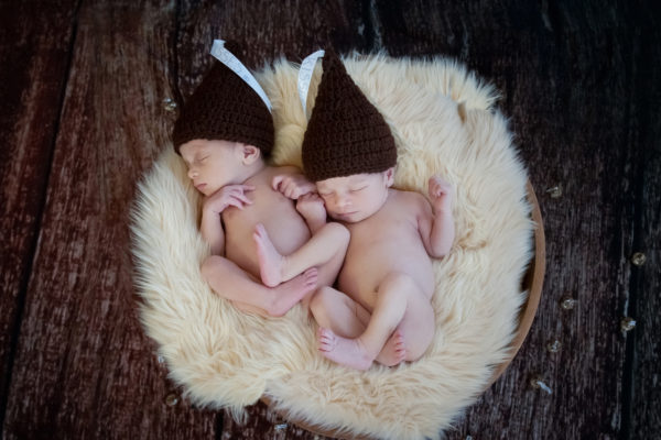 Newborn Twins Photographer in Marlton New Jersey