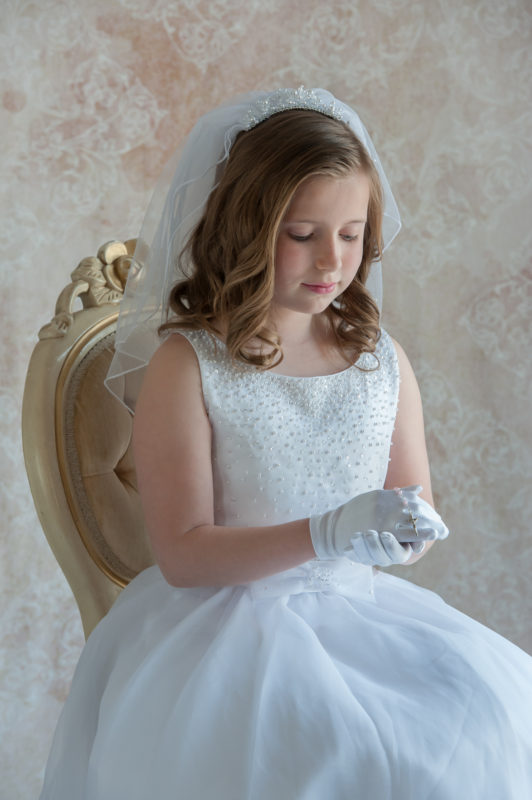 First Communion Photographer in Mt Laurel New Jersey