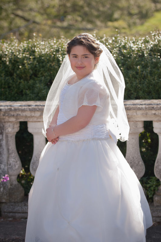 First Communion Photographer at Longwood Gardens