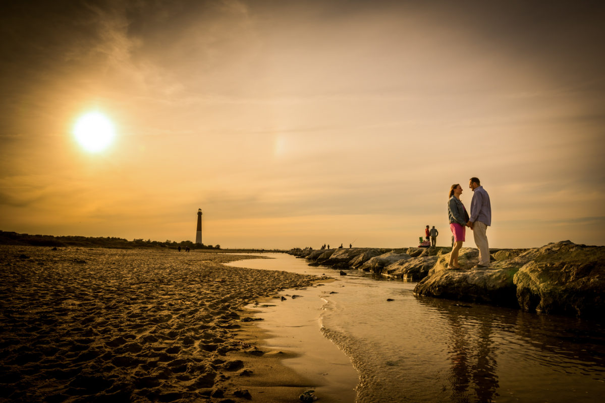 Photographer at Long Beach Island State Park New Jersey