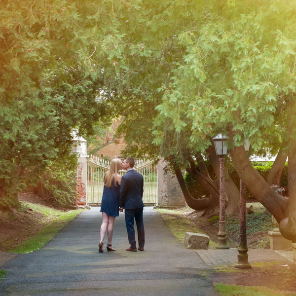 Engagement Photography at Smithville Mansion New Jersey