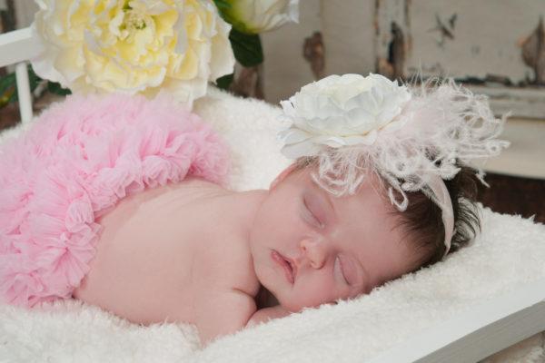 Newborn Baby Girl Photographer in Marlton New Jersey
