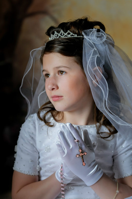 First Communion Photographer in Marlton New Jersey