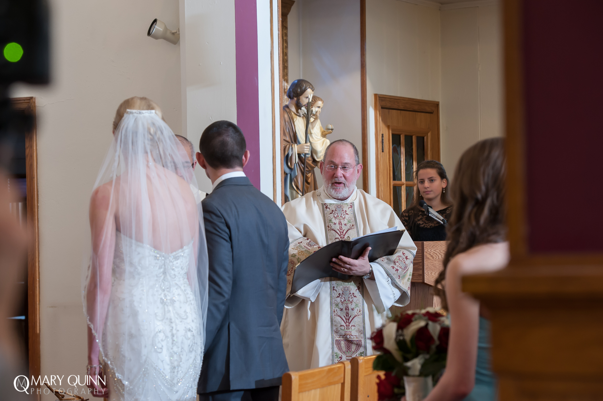 Our Lady Queen of Peace Hainesport New Jersey Wedding Photographer