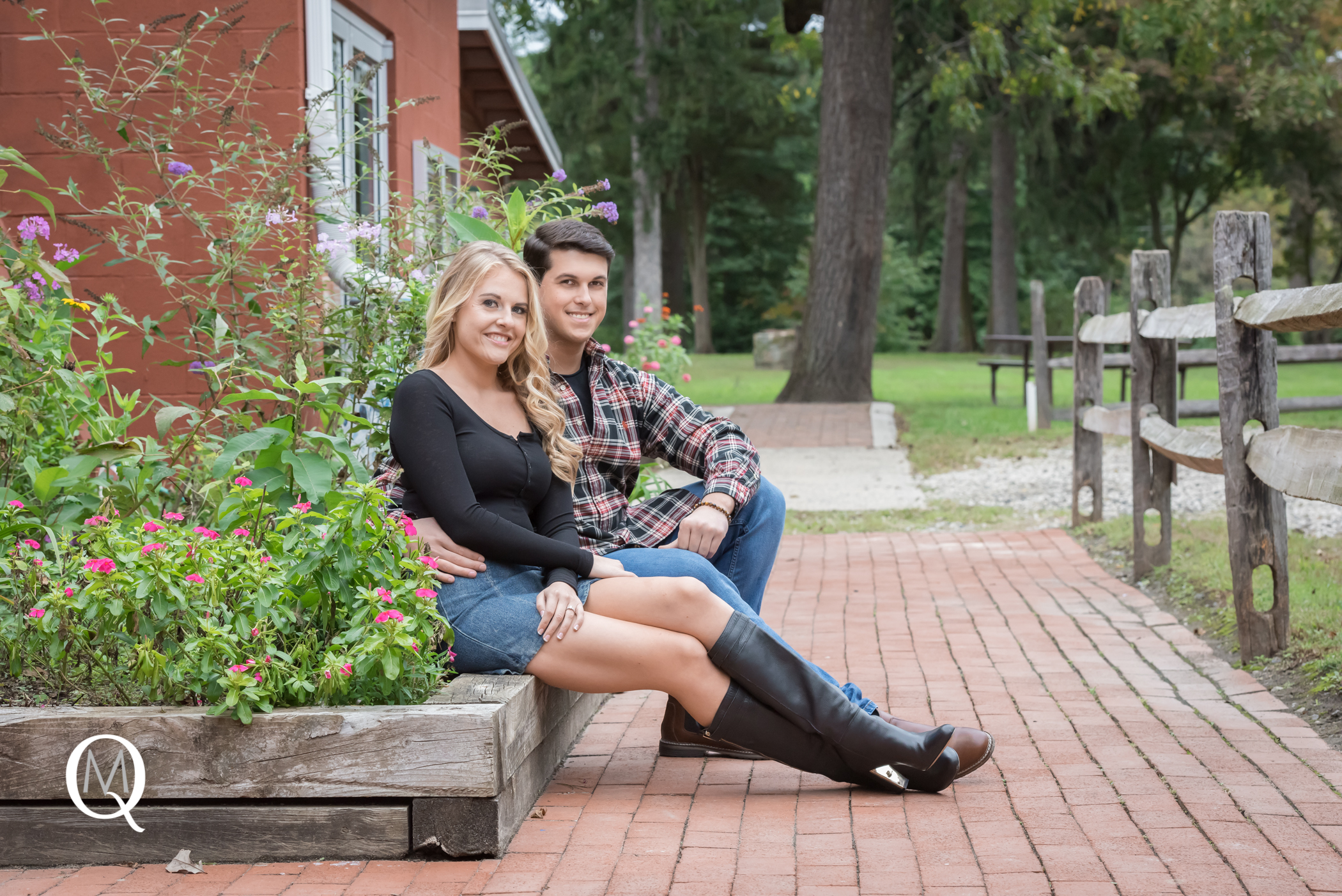 Mooresetown NJ Engagement Photographer