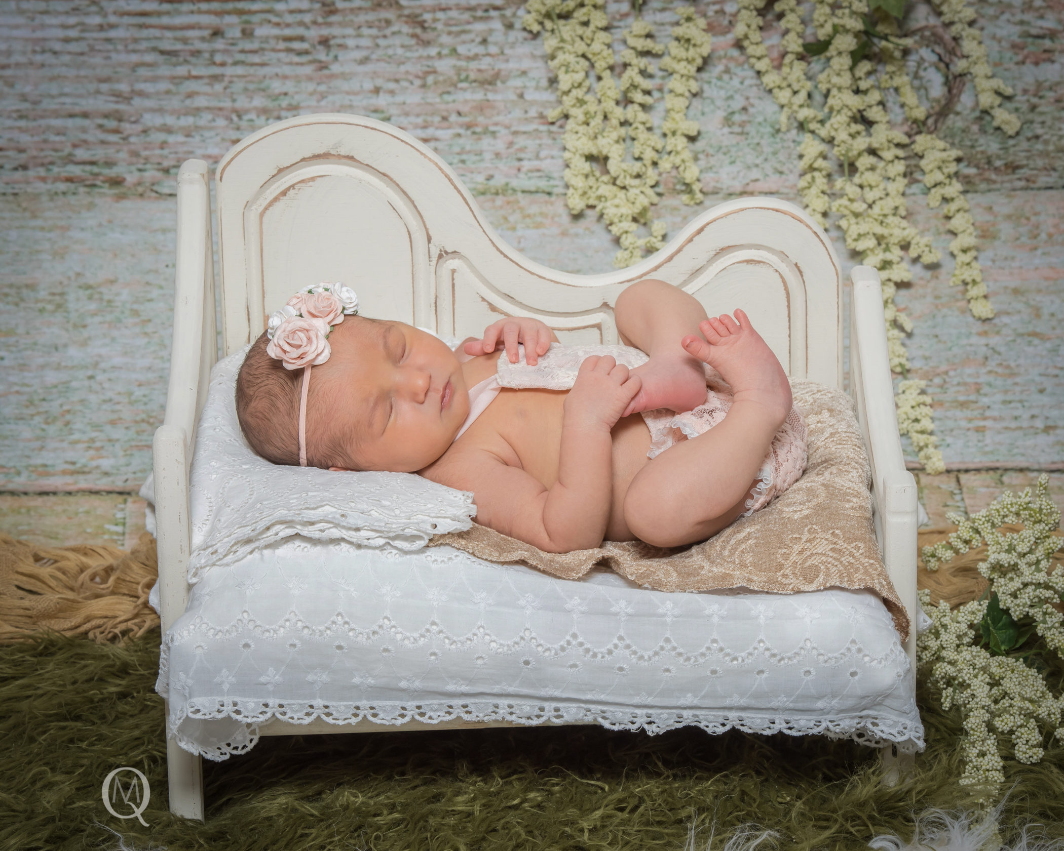 Newborn Photographer in Haddonfield New Jersey