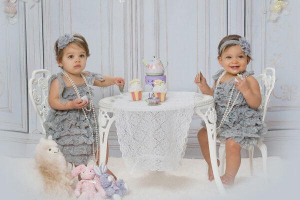 Twin Girls Birthday Photo Marlton New Jersey