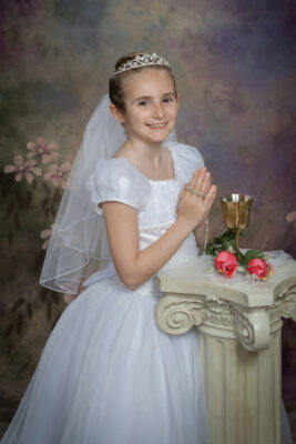 Communion Photographer in Our lady of the Lakes Medford New Jersey