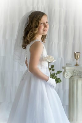 First Communion Child Photographer in Medford New Jersey